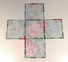 Sewing Fabric Storage Allison Gryski: Tutorial: How to Sew a Fabric Box Fabric Box Pattern, Fabric Boxes Tutorial, Purse Tutorial, Fabric Crafts, Sewing Crafts, Paper Crafts, Box Patterns, Sewing Patterns, Purse Patterns
