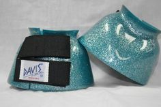 DAVIS Medium Metallic Teal Bell Boots by Davis. $19.95. Known for their wide variety of colors and sizes, DAVIS Bell Boots offer trendy styles, while giving horses of every size and breed outstanding overreach protection.