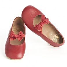 Pepe Red Bow Ballet Flats van PePe kinderkleding