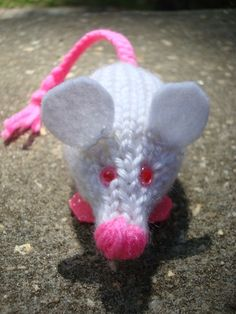 Pssst... Looking for a crochet version of this pattern? The Mad Crochet Lab created one based off of this Bioluminescent Lab Rat,  chec...