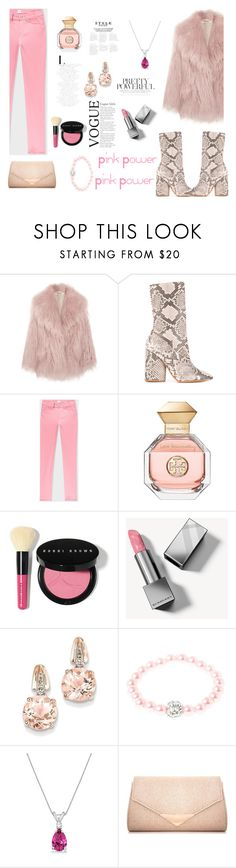 """""""Pink Power"""" by katiephan on Polyvore featuring Miu Miu, Yeezy by Kanye West, PS Paul Smith, Tory Burch, Bobbi Brown Cosmetics, Burberry, BillyTheTree, Allurez, Dorothy Perkins and Pink"""