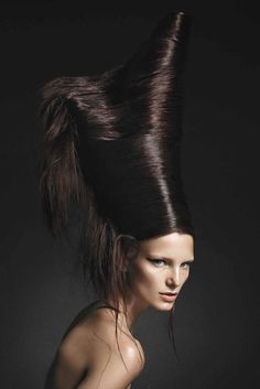 Really? Name 3 people you know who would wear their hair like this. OK, name 1. Can't, can ya? Me neither.