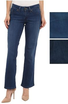 66710e3174f Levi s 529 women s jeans curvy fit bootcut mid rise 5 pockets size 8P