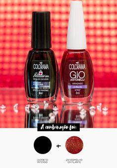 Combinando Esmaltes: bordô escuro com emoção - Unha Bonita Nail Manicure, Nail Polish, Manicures, Trendy Nails, Nail Arts, Diy Hairstyles, Lip Balm, Nail Colors, Curly Hair Styles