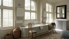 Normandy Shutters are made from the world's fastest growing tree species, our Normandy timber shutters are not only gentle to the touch, but are gentle on the environment too. Fast Growing Trees, Wood Shutters, Normandy, Corner Bathtub, Home And Garden, Fastest Growing Trees, Normandie, Wood Blinds, Wooden Shutters