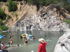 California swimming holes... Standish-Hickey Swimming Hole, Mendocino County piictured