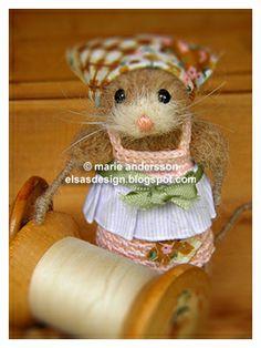 Fröken Elsas virkblogg - So süße Mäuse