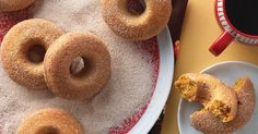 Wonderfully moist, flavorful pumpkin doughnuts that are baked, not fried.