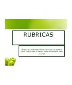 RUBRICAS, ¿que són?
