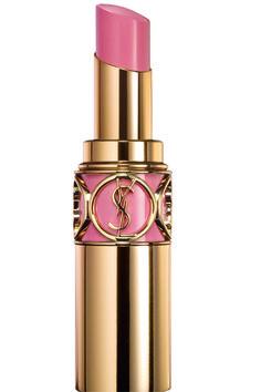 Perfect lip color for brides: YSL Rouge Volupté lipstick in Lingerie Pink