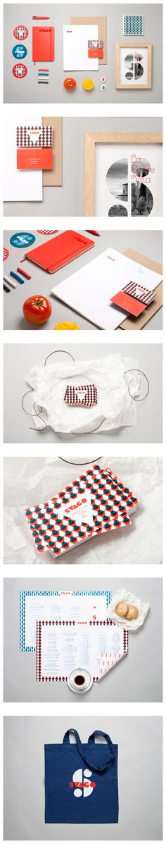 Funky identities Svago by Estudio Menta, via Behance