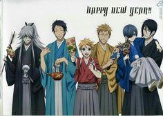 Happy new years!  #black butler #Kuroshitsuji #Newyears #bye2015