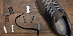 Zubits magnetic shoe closures make your shoes insanely easy to put on and take off!