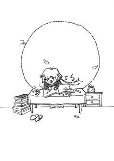 #drawing #boogieman #illustration #deda