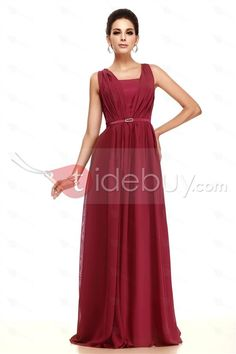 Fabulous Ruched A-Line Beading Floor-Length Taline's Bridesmaid Dress