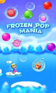 Tap #popbubble to relief Emily, hit #frozenbubble to win #FrozenPopBubbleShooter...!!