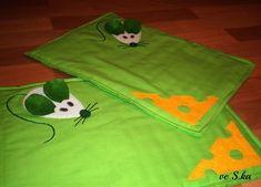 Prostírání Myšičko, myš ... zelené