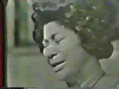 """Mahalia Jackson--""""How I got over LIVE"""" - Mahalia Jackson live in Chicago a favorite of Dr. Martin Luther King Jr. Mahalia sang this at the march on washington just before King gave the I have a dream speech...a voice that is straight out made out of angel's tears.... The video is choppy because it's original..seems more powerful to me"""