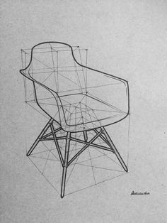 35 Armchair Pencil Drawing Ideas – Keep up with the times. Interior Design Sketches, Industrial Design Sketch, Sketch Design, Graphisches Design, Sofa Design, Furniture Design, Furniture Sketches, Drawing Sketches, Pencil Drawings