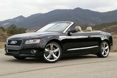 Least Expensive Convertibles You Can Buy: Audi A5 Cab Definitely good buy. Forget the price - A5 Cabriolet is one of the best convertibles on the market. Well engineered, reasonably quiet with the top down, back seat accommodates adult friends in comfort. Good looking fun to drive. Factor in the price a lot less expensive than BMW's 4-series, though BMW does get a retractable hard top while Audi A5 only cloth.