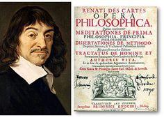"Squashed Philosophers - Descartes - Discourse on Method- ""Cogito, ero sum (I think, therefore I am)"""