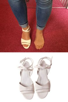 258aaf4a6a This fab kitten heel sandal in pale pink features gorgeous frills and is  suitable for up to large bunions, or moderate bunions on wide feet.