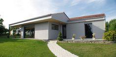 Extension d'une maison individuel et nouveaux look sur l'existant
