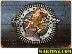 WWII airplane nose art but would be really cool on a Harley!