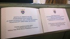 Estonia - Ordination and consecration of Urmas Viilma as the archbishop of Evangelical Lutheran Church of Estonia. 2.2.2015
