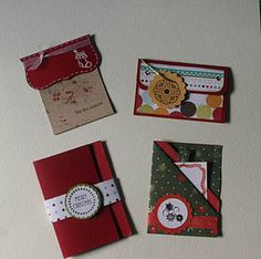 some gift card holder ideas