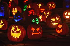 As the world gets ready for Halloween we look at the best carved pumpkins,   decorations and costumes during this year's celebrations