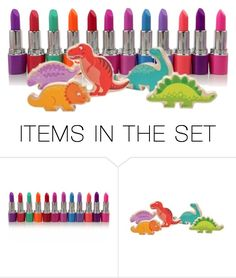 """""""Lipstick Jungle ~ 2 Item/Cute Plus Beauty"""" by kbarkstyle ❤ liked on Polyvore featuring art"""