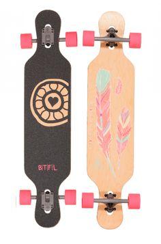 BTFL Longboards Naomi - Longboard für Mädels www.Endless-Skate.de