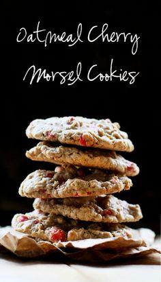 Oatmeal Cherry Morsel Cookies