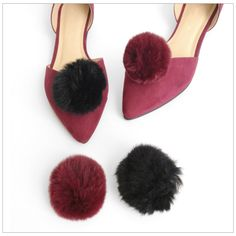 It's all about the Furry Pom Pom this season... With our new Pom Pom Shoe Clips - you can style your shoes to be right on trend.. http://www.secretfashionfixes.ie/search/furla