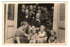 Just found this old family photo from 1938. The children below are my aunt, my mother and other aunt :D