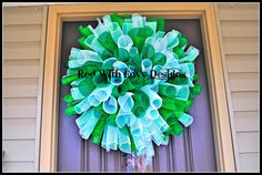 Marshall University MU West Virginia Wreath by RedWithEnvyDesigns