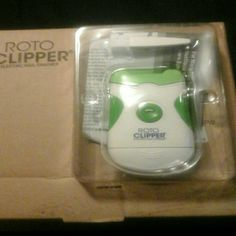 Roto Clipper Electric Nail Trimmer Brand new as seen on TV RotoClipper.. self explanitory and comes with instructions.. Would like to get what I paid for it, but I am definately open to reasonable offers. TY Roto Clipper Other