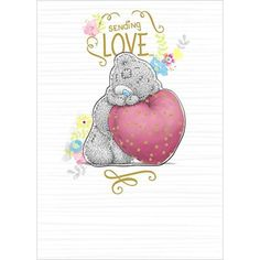 Sending Love Me to You Bear Card £2.69