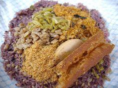 紫米飯糰 Chinese Breakfast, Grains, Rice, Food, Meals, Yemek, Laughter, Jim Rice, Eten