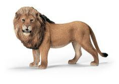 Schleich Lion by Schleich. $10.70. Incorporates education and interesting facts with fun toys. Incredible details and craftmenship. A wonderful addition to your wildlife collection. Animals features are designed real to life. Roaming and hunting lion toy figure. Lion (standing). Size: 150mm (L) x 50mm (W) x 70mm (H). The Schleich ranges of hand painted animals are perfect for enjoyable role play - build up a collection for hours of fun. All animals are CE test...