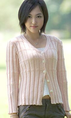 Ravelry: 26-27-15 Free Cardigan pattern simple but gorgeous