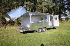 FunTear Promo Trailers   FunTear   New Aluminium Retro Caravans & Event Trailers   Amerikaanse Caravans