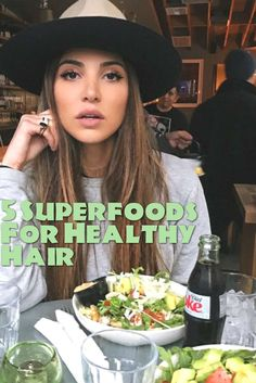 "Nutritionist and author of The Beauty Diet, Lisa Drayer, explains, ""your hair reflects your nutritional status. Behind great hair is great nutrition. There are no hair products that can be applied on the outside that will make up for poor nutrition."""