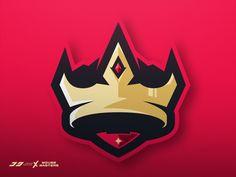 Crown Sport Logo by José Rey Basketball Logo Design, Team Logo Design, Mascot Design, Identity Design, Brand Identity, Esports Logo, Japanese Tattoo Designs, Photography Logo Design, Great Logos