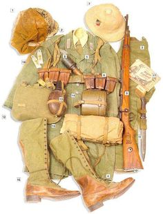Africa Korps Uniform (great modeling reference) #WWII