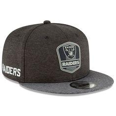 86eb84ed118cef 2018 Oakland Raiders New Era 9FIFTY Sideline On Field Away Snapback Hat Cap  950