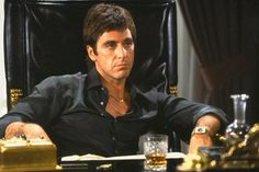 "Tony Montana - ""Say hello to my lil' frien'!"" Scarface!"