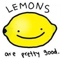 Lemons are pretty good!