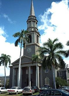 Central Union Church Honolulu, Hawaii; Where my Grandparents were married~